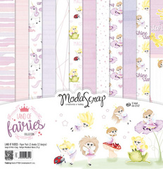 Scrapbooking Blok - Land of fairies 30,5 x 30,5 cm